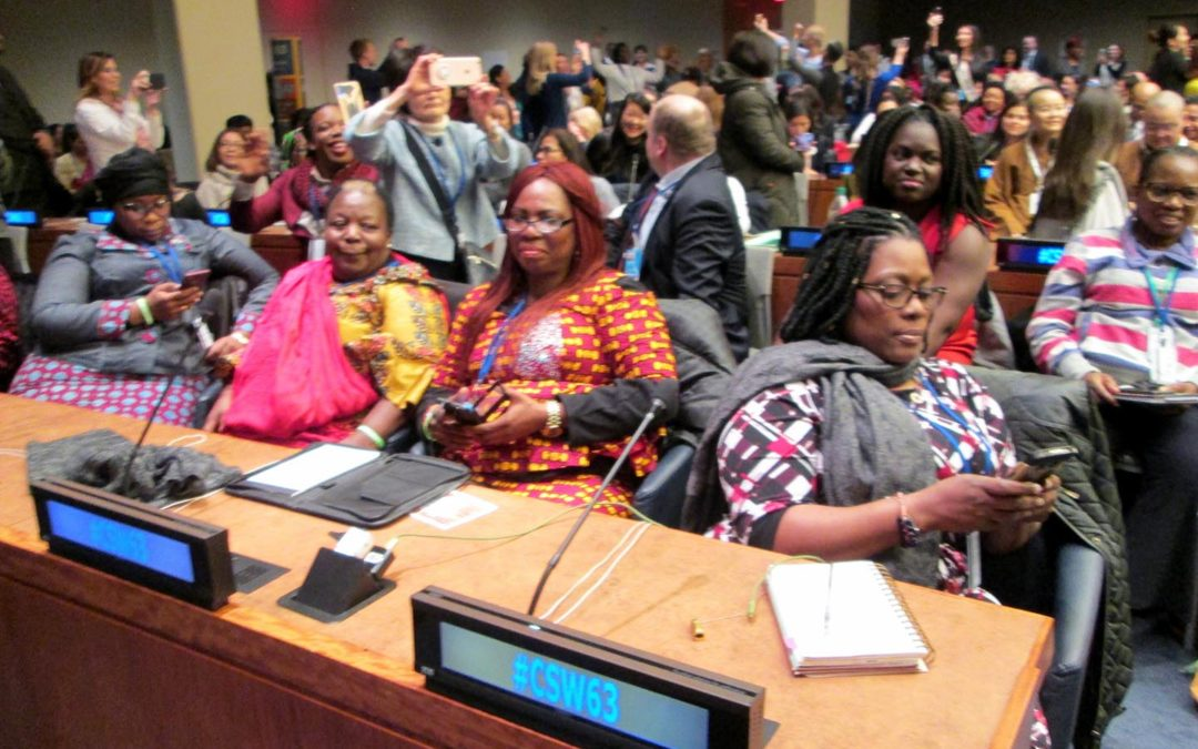 United Nations Commission on the Status of Women 63 Second Day – 12 March 2019